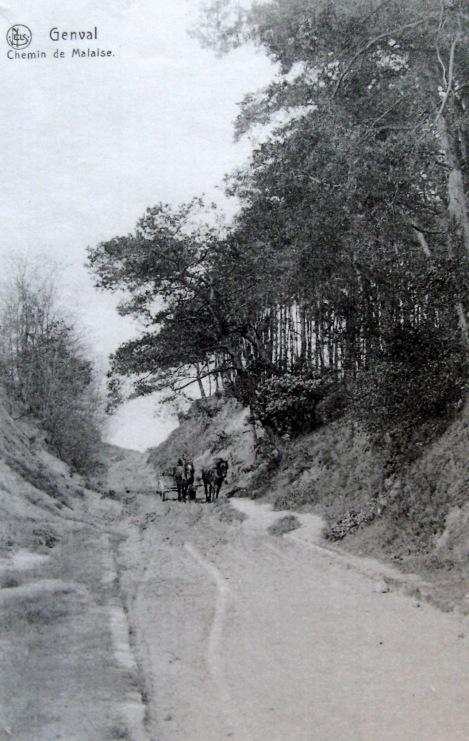 Chemin de Malaise avant 1912 c Philippe Godin
