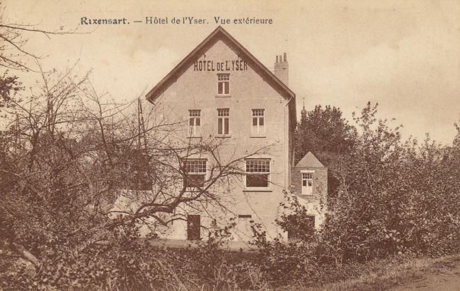 Hôtel de l'Yser Vue extérieure © Jean-Louis Lebrun