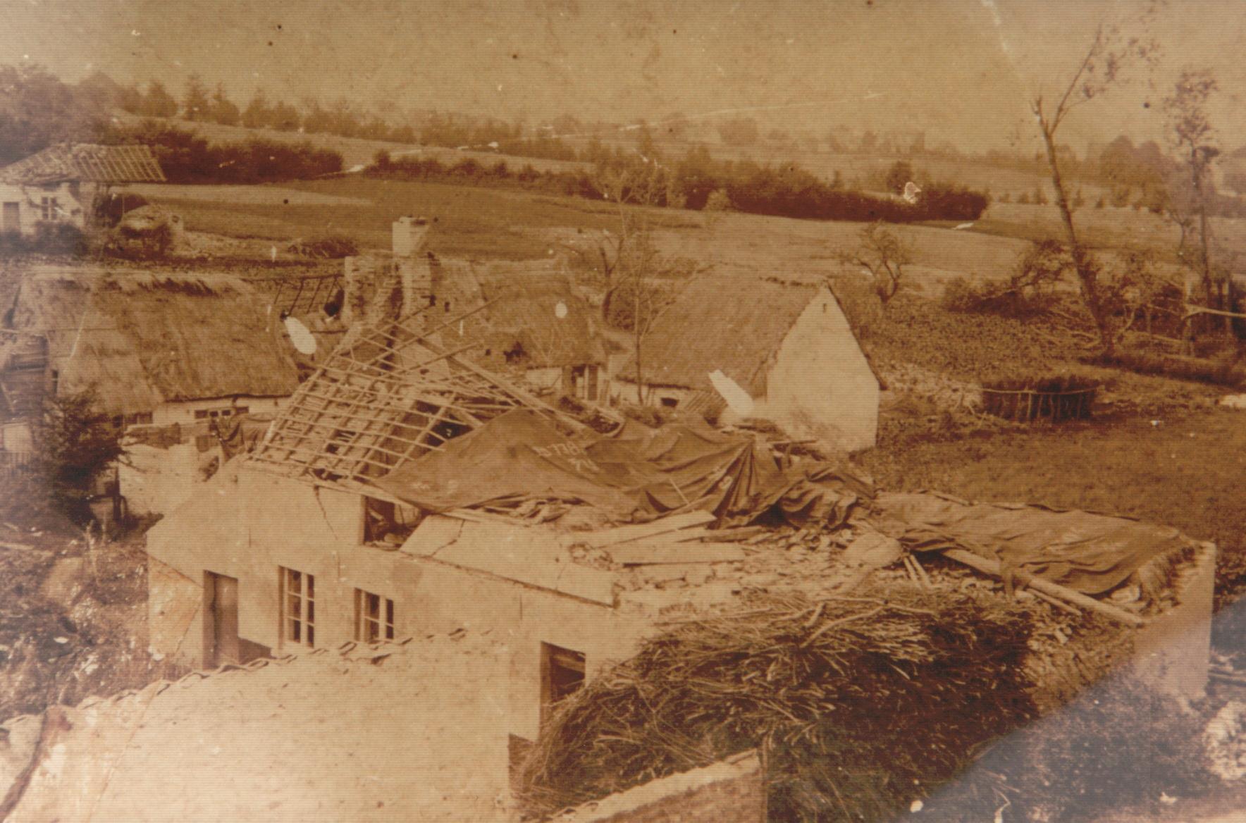 1895 Rue du Cyclone ollection Cercle d'Histoire de Rixensart