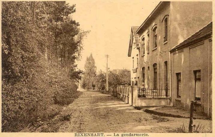 1354. La Gendarmerie à Rixensart Collection Francis Broche