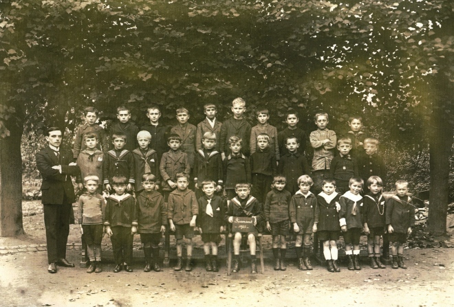 1925 Ecole Communale Mr Jean Gilson c Paul Gilson