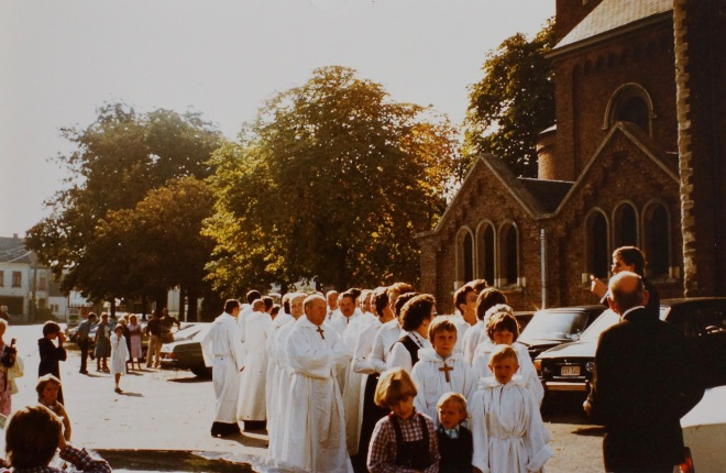 1982 Cinquantenaire de la Chorale de Bourgeois coll. Philippe Sterckx 0