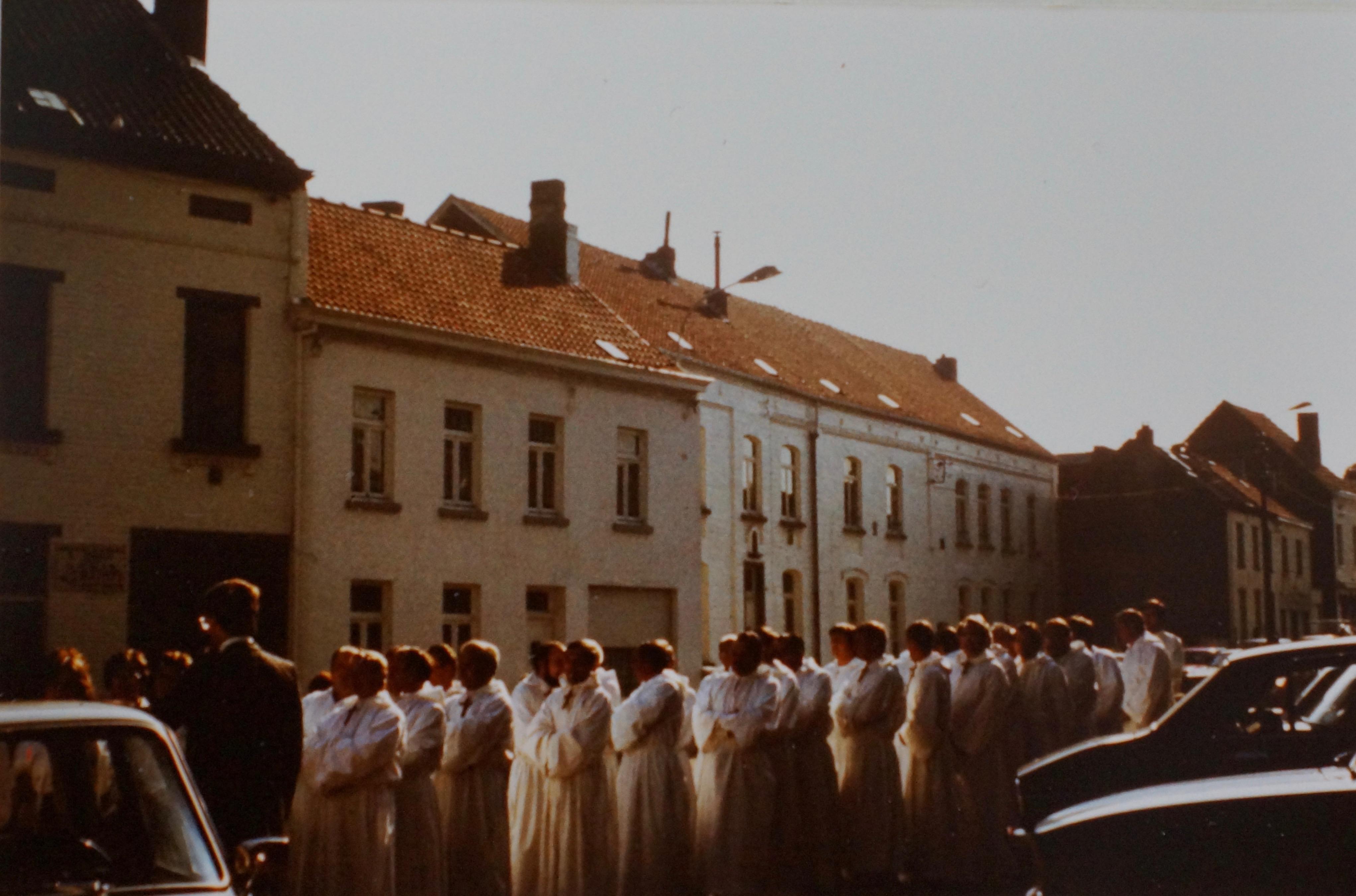 1982 Cinquantenaire de la Chorale de Bourgeois coll. Philippe Sterckx 2