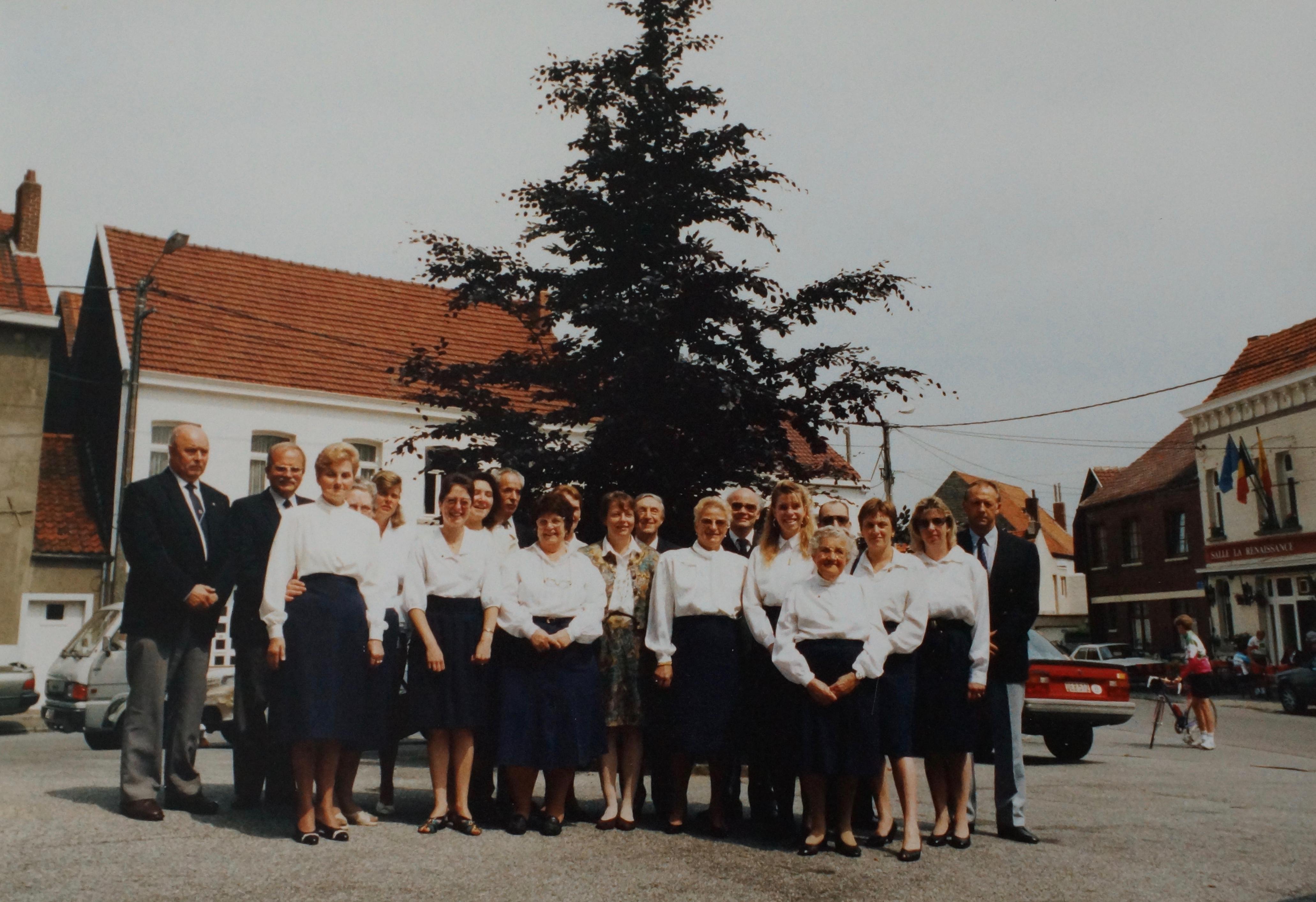 19920927 Soixantième anniversaire de la Chorale de Bourgeois coll. Philippe Sterckx 2