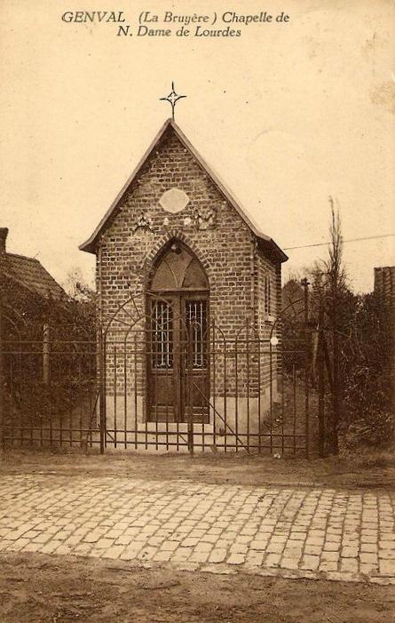 600. Chapelle de Notre-Dame de Lourdes rue de la Bruyère à Genval