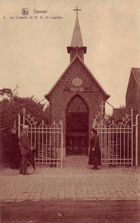 601. Chapelle Notre-Dame de Lourdes rue de la Bruyère à Genval c Francis Broche