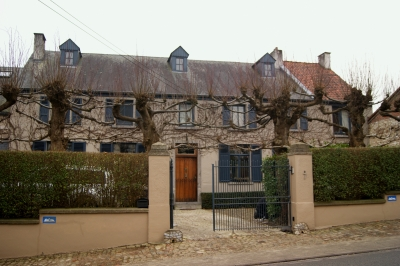Rue de l'Eglise ancienne maison communale 1.2015 © Monique D'haeyere