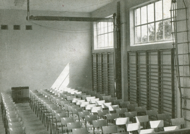 avant 1963 Ecole Communale du Centre Salle des Fêtes et de Gymnastique