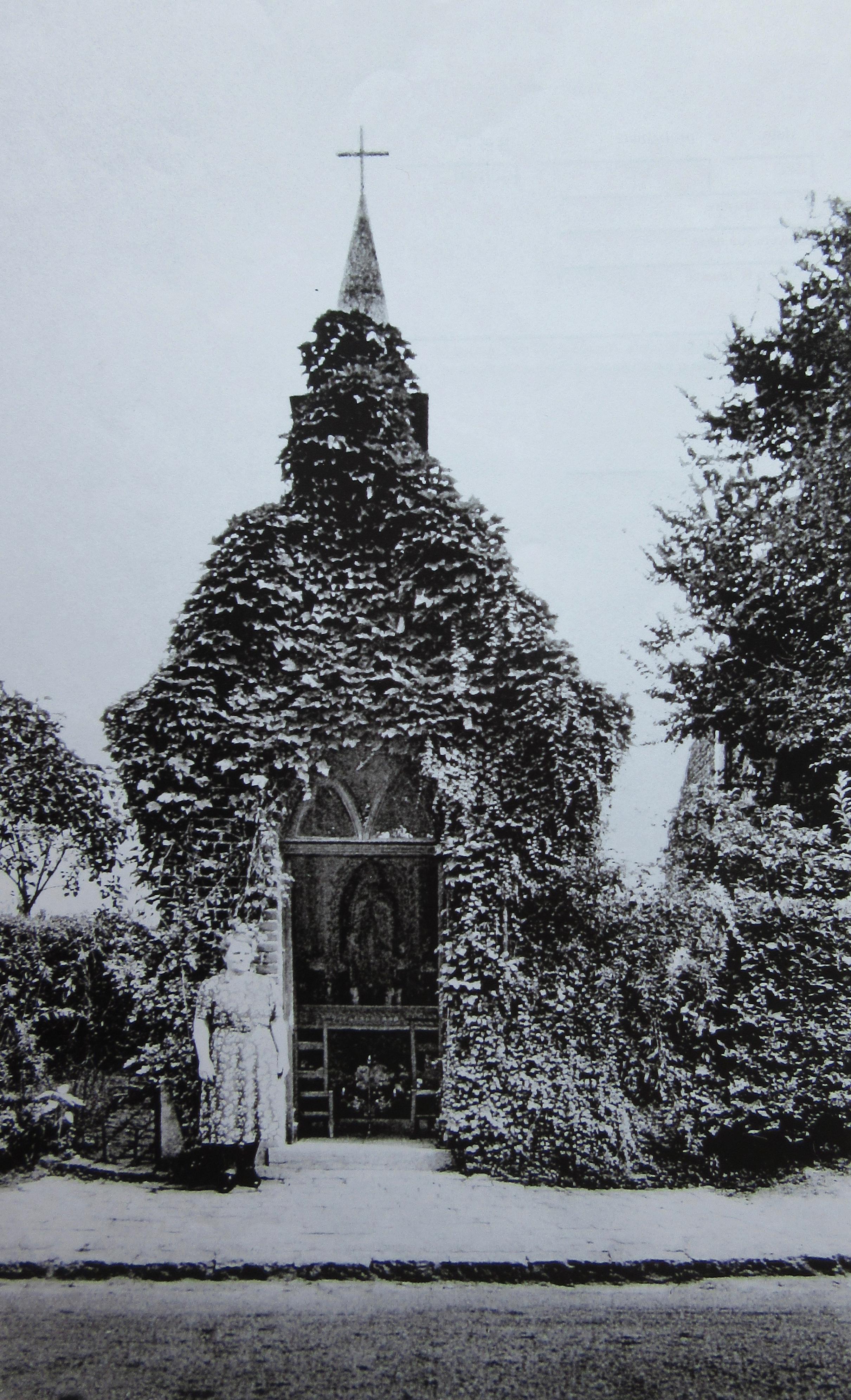 Chapelle dite Vanhamme Rue de la Bruyère 1960 c CHR coll R. Javaux