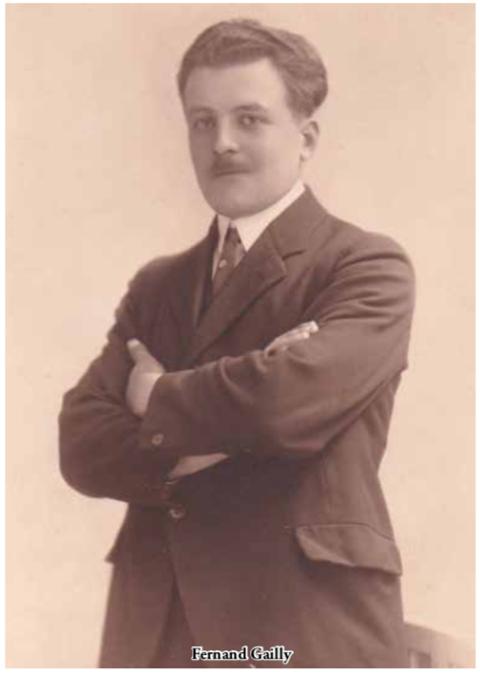 Fernand Gailly (1902-1945) © Michèle Degueldre