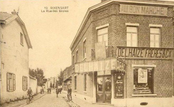 La Rue des Ecoles voir 117 c Francis Broche