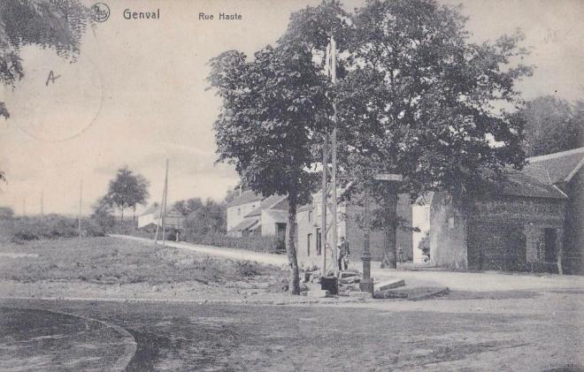 Le Gros Chêne de la rue Haute à Genval