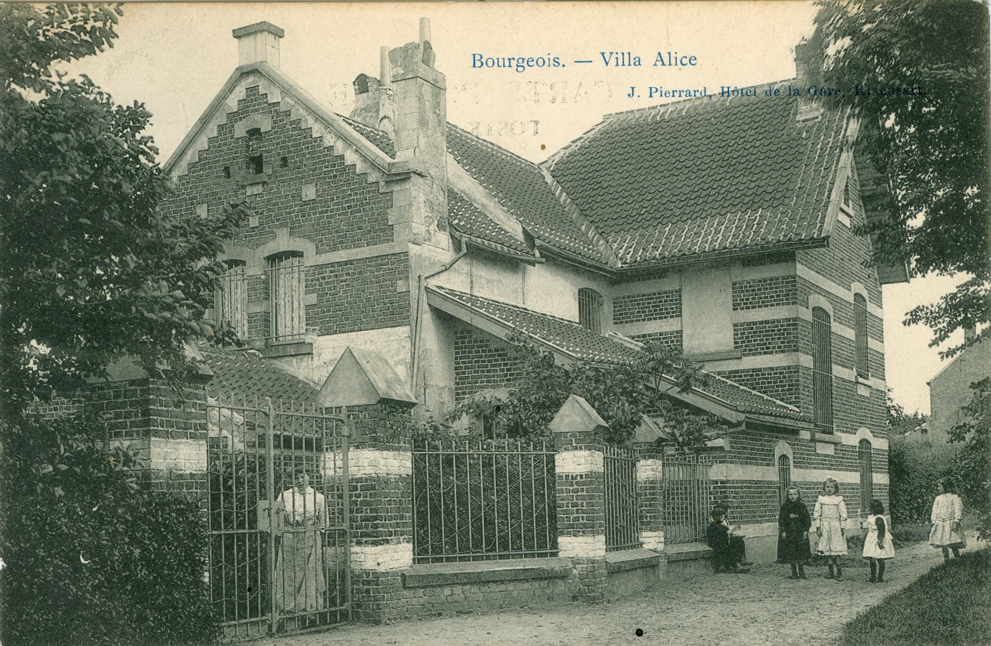 517B. Villa Alice Bourgeois Rixensart circ 1908 c JCR 0421