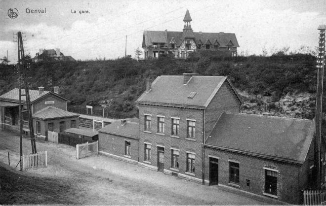 588. Première gare de Genval c Jean-Claude Renier