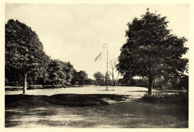 Résidence des Vétérans Coloniaux (coté jardin) après 1949