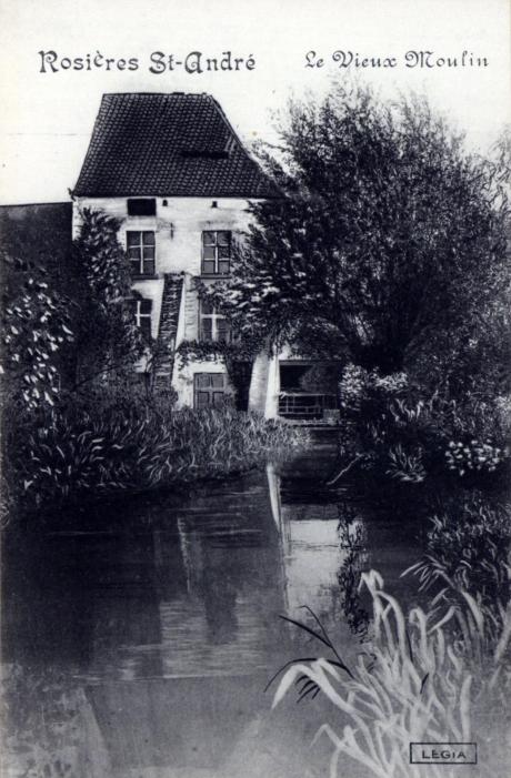 Le Vieux Moulin à Rosières (début 20e) coll. Ugent
