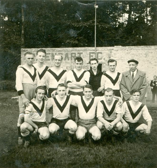 1045. FC Rixensart ca 1950 c Paul Gilson