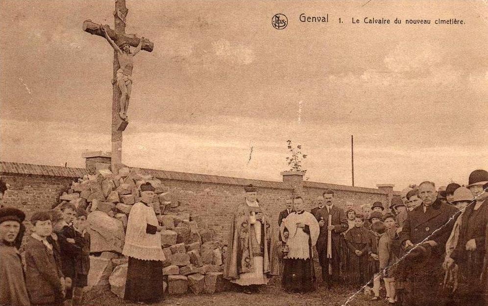 181102 Le Calvaire du nouveau cimetière de Genval