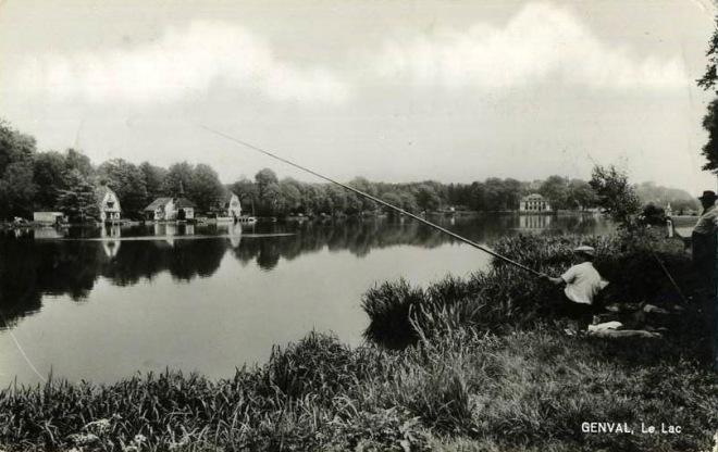 238. 1950 1960 Le Lac (pêcheur) copie