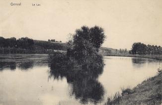Rive est du lac de Genval,coll. Anne-Marie Delvaux