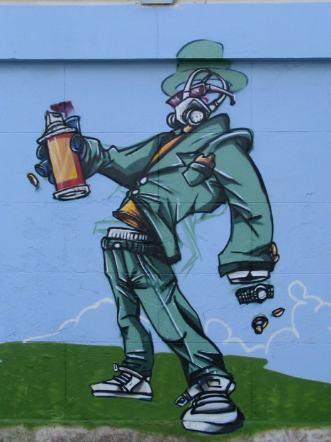 4 Graffitis au Lac de Genval © Serkan Duzler