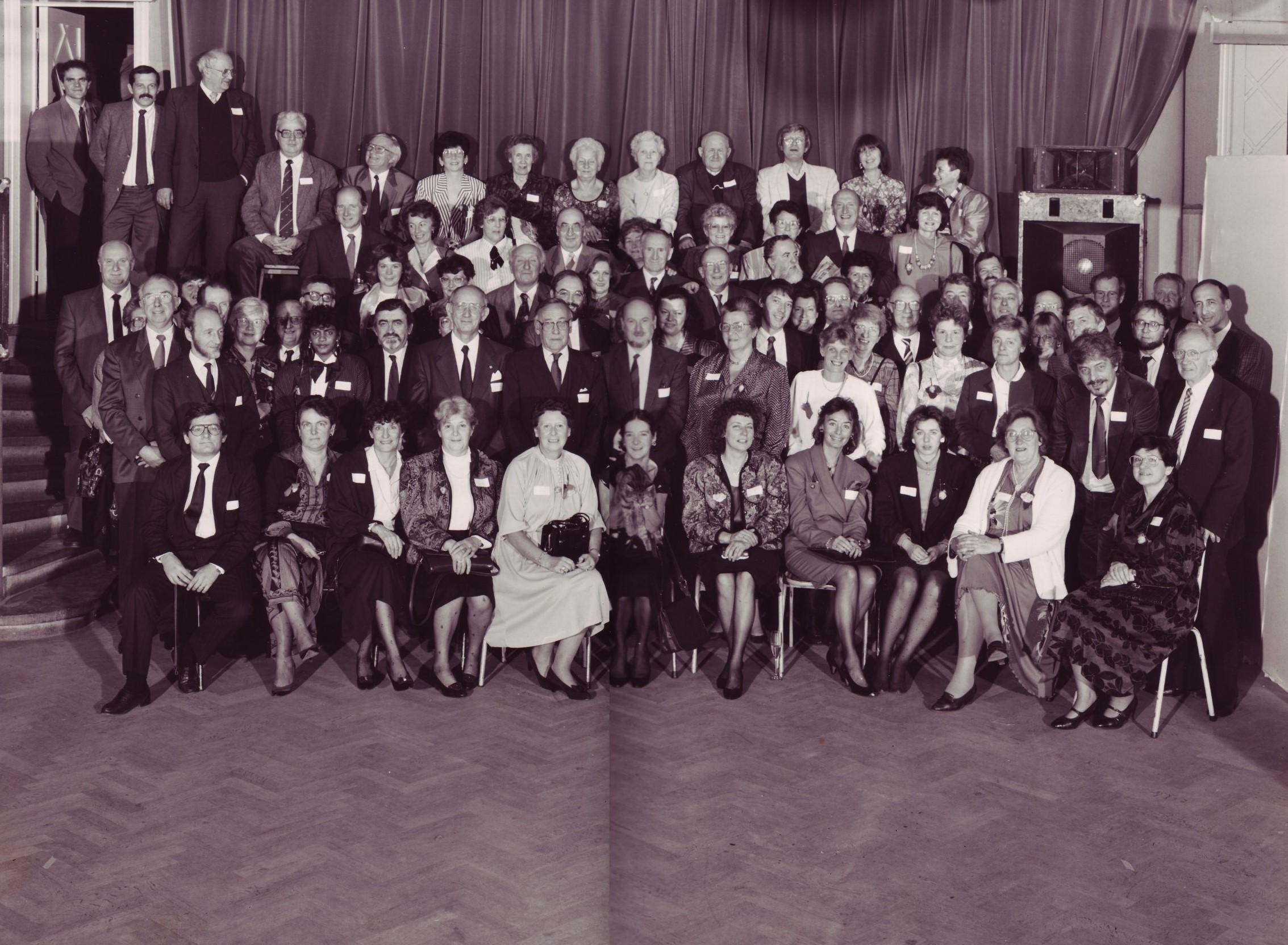 527B. Syndicat d'Initiative de Rixensart (20ème anniversaire) novembre 1988 c Paul Tagnon