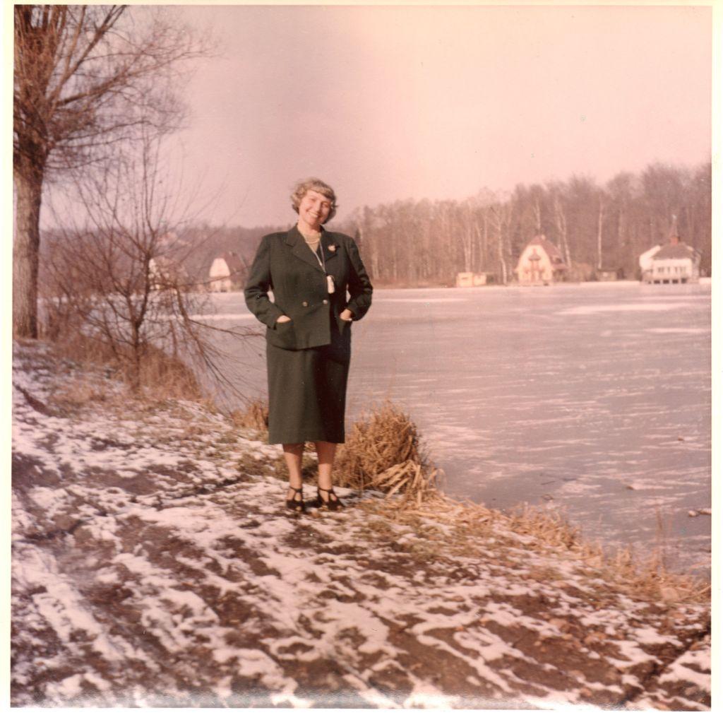 820. Lac de Genval mars 1953 c Philippe Godin