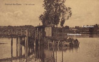 L'île rustique, coll. Anne-Marie Delvaux
