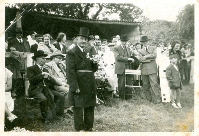 Football des Vétérans à Rixensart vers 1947 Alphonse Mayné coll Jean-Claude Renier