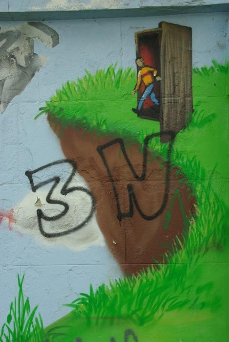 Graffiti du lac Genval Genval 2008 © Eric de Séjournet-042