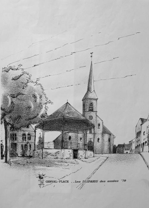 Place Les disparus des années 70 Collection Cercle d'Histoire de Rixensart (56)