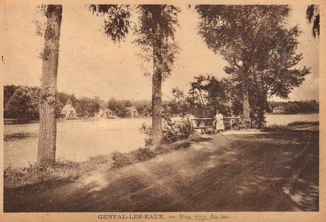 Promenade Paul Harris Lac de Genval Cottages