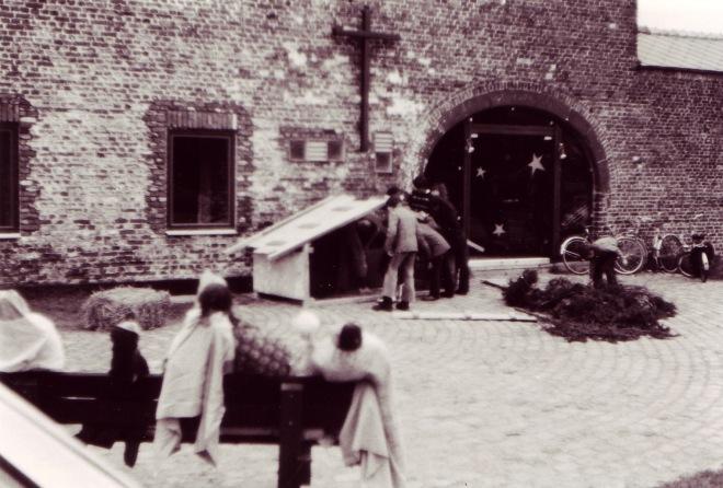 181225 Eglise Saint-Etienne Noël 1978-1979 inaugurée le 25 décembre 1976 © André Delbar
