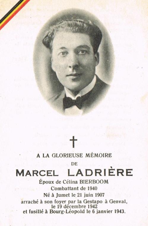 1048. Marcel Ladrière (avis mortuaire)