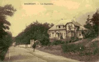 début XXe |Villa 'Les Sapinières' | coll. Francis Broche