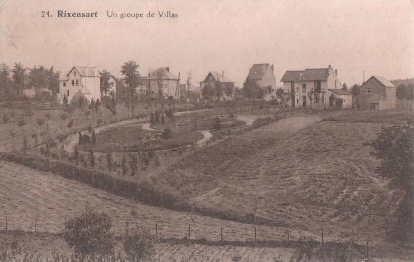 rixensart - avenue des sorbiers (années 1920) coll jean-michel corbisier