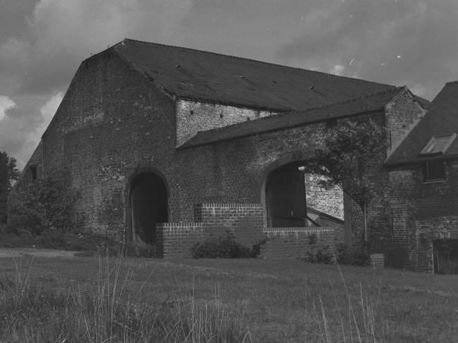 avant 1976 Renovation de la grange de la Ferme de Froidmont © Maurice Goethals 1