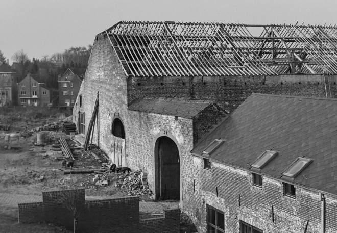avant 1976 Renovation de la grange de la Ferme de Froidmont © Maurice Goethals 3