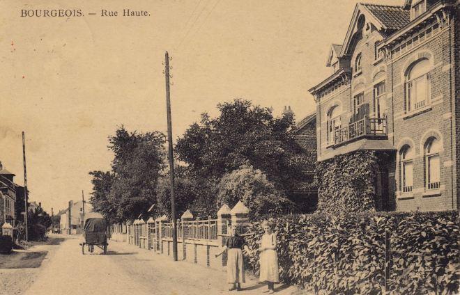 Rue Haute 1923 coll. Jean-Louis Lebrun