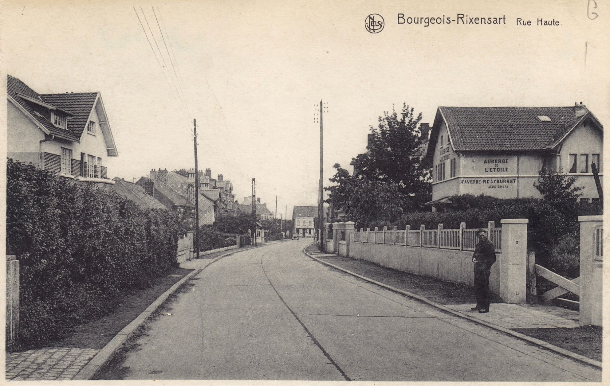 Rue Haute Bourgeois B coll. Jean-Louis Lebrun