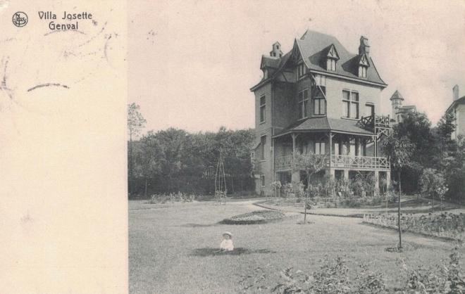 Villa Josette à Genval 1911