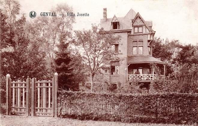 Villa Josette à Genval c Philippe Godin