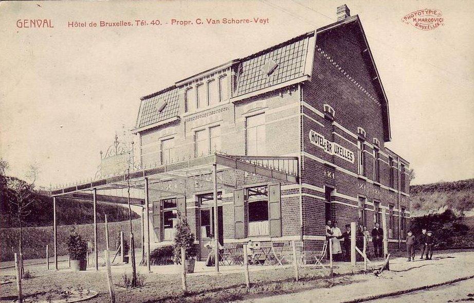 1 Hôtel de Bruxelles à Genval 1911