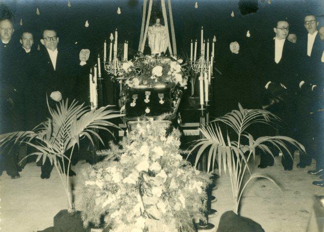 1. Funérailles Dr Lucien Dessy mars 1947 Collection Dupuis Delbrassinne