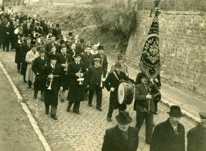 15. Funérailles Dr Lucien Dessy mars 1947 Collection Dupuis Delbrassinne