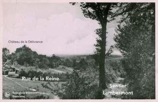 180406L Panorama Sentier Lambermont à Bourgeois Ed. Coopmans Bruxelles 1954 coll. JCR Martin0 copie 2