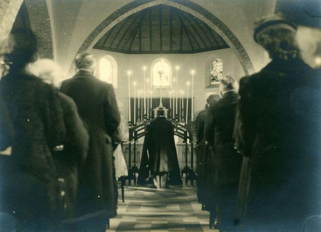 21. Funérailles Dr Lucien Dessy mars 1947 Collection Dupuis Delbrassinne