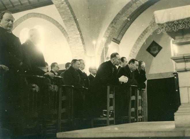 22. Funérailles Dr Lucien Dessy mars 1947 Collection Dupuis Delbrassinne