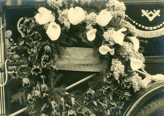 23. Funérailles Dr Lucien Dessy mars 1947 Collection Dupuis Delbrassinne