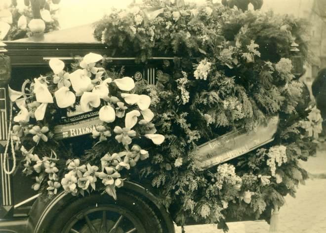 24. Funérailles Dr Lucien Dessy mars 1947 Collection Dupuis Delbrassinne